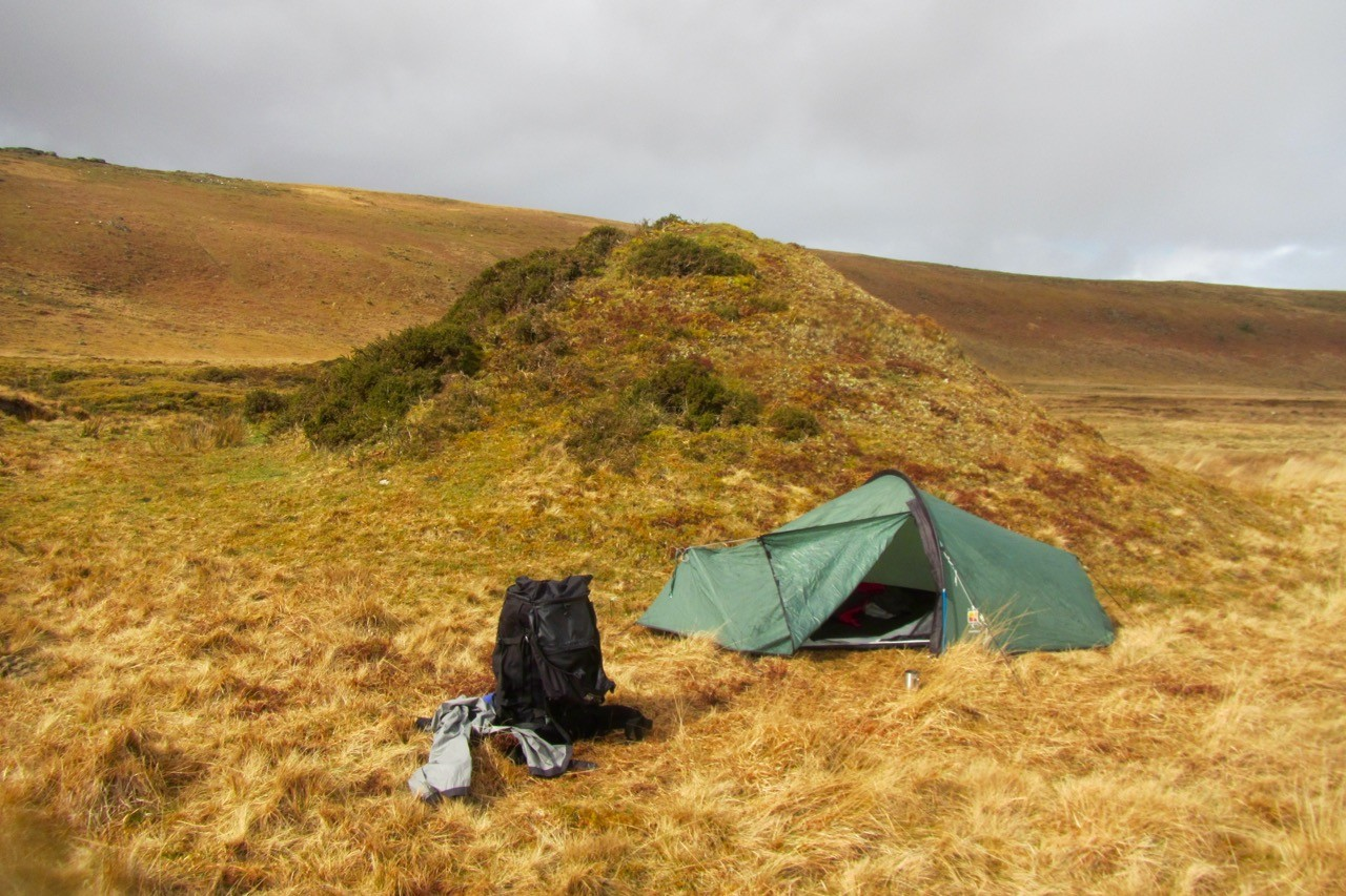Wild camping tips dartmoor - 2