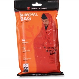 Wild camping tips - survival bag