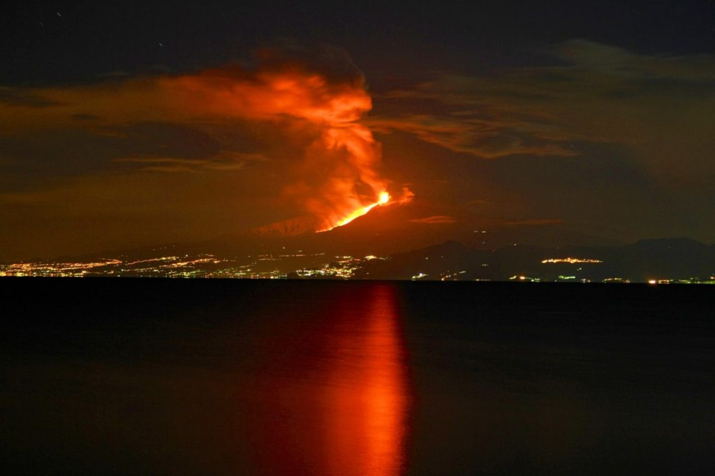 etna, most active volcanoes