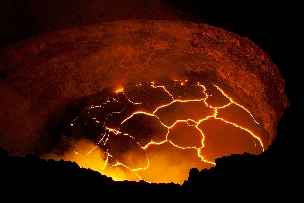 hawaii, most active volcanoes