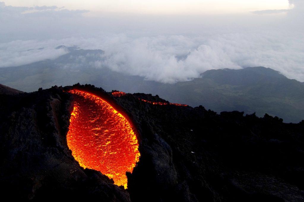 Mt Erebus Volcano Antarctica  John Seach