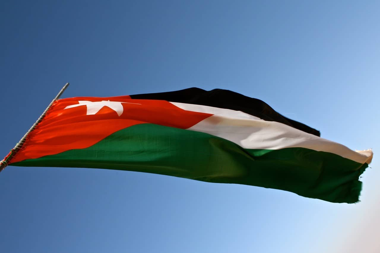 interesting facts about Jordan flag