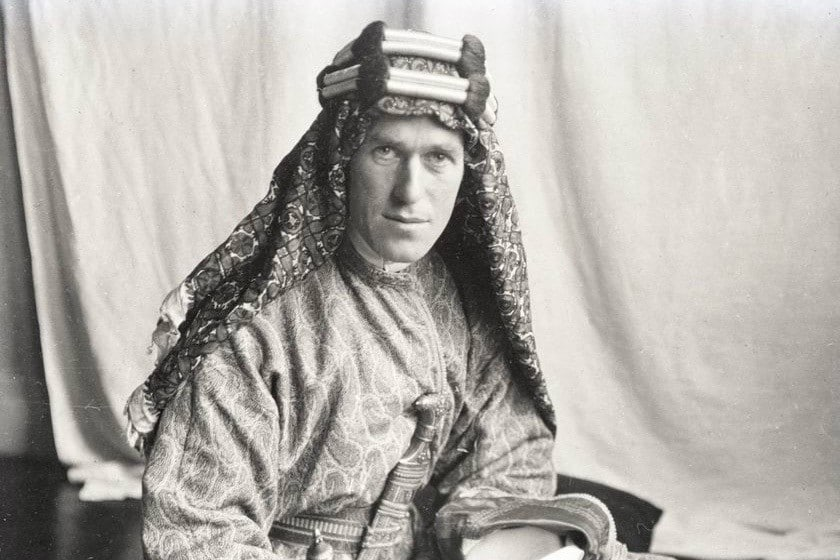 interesting facts about jordan lawrence of arabia - 1