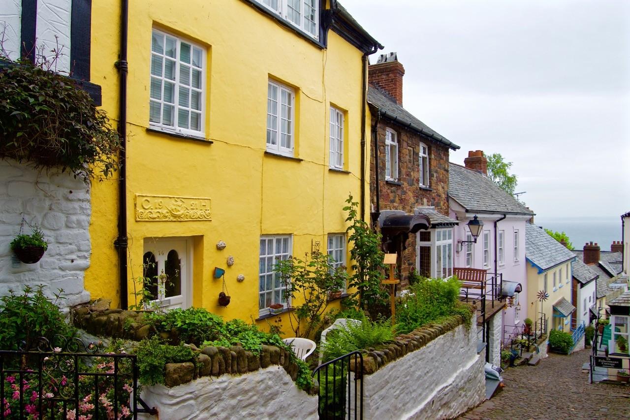 Clovelly-village - street