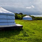 glamping in Devon grounds