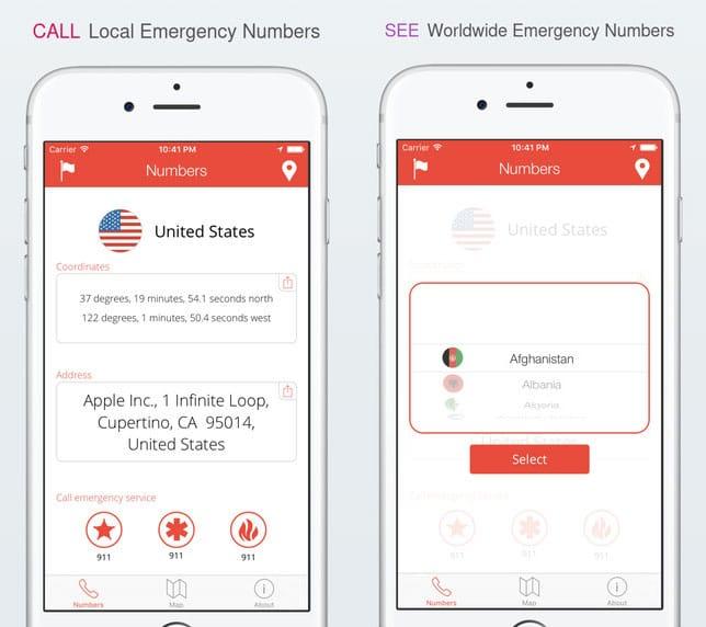 Hiking First Aid Kit: TripWhistle App