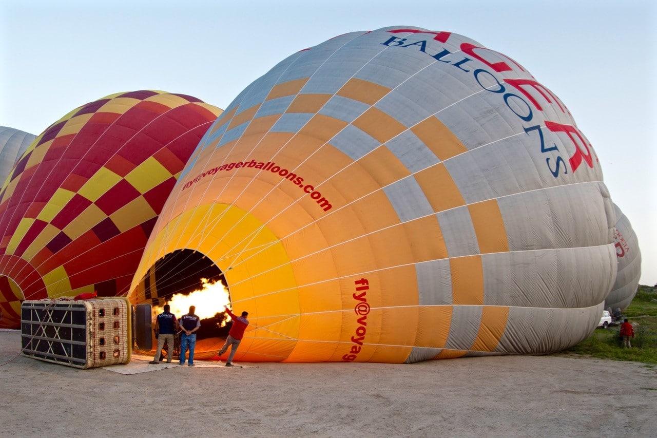 Capadoccia balloon ride - 1