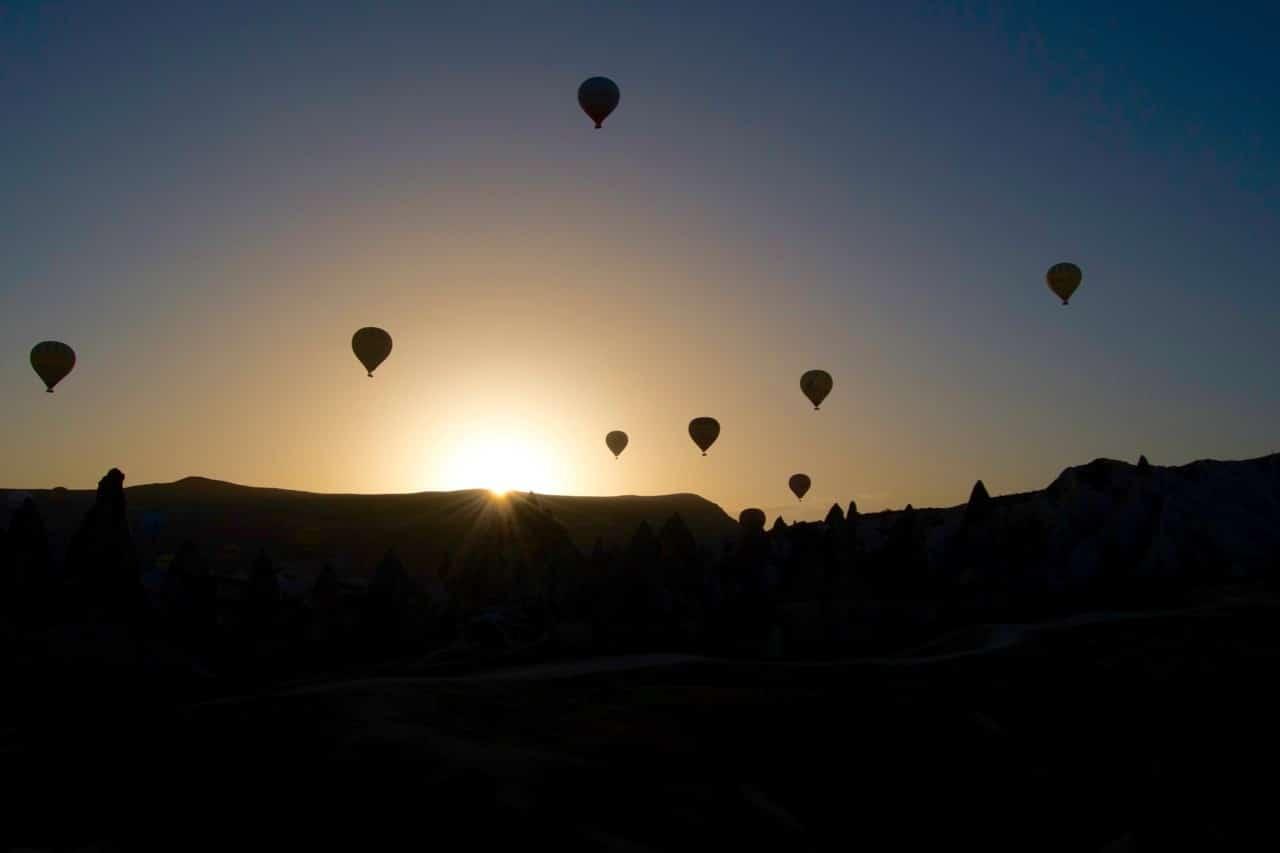 Capadoccia balloon ride - 5