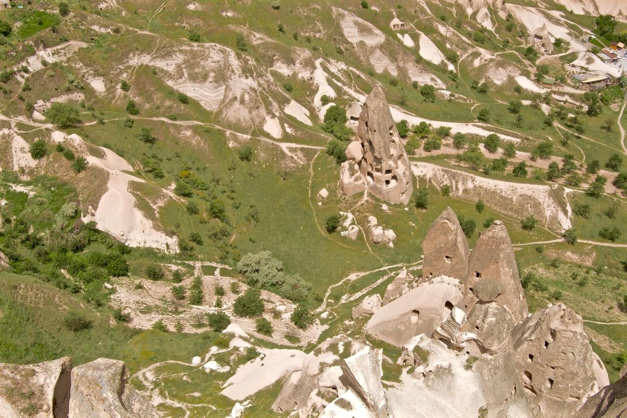 Cappadocia hikes uchisar castle