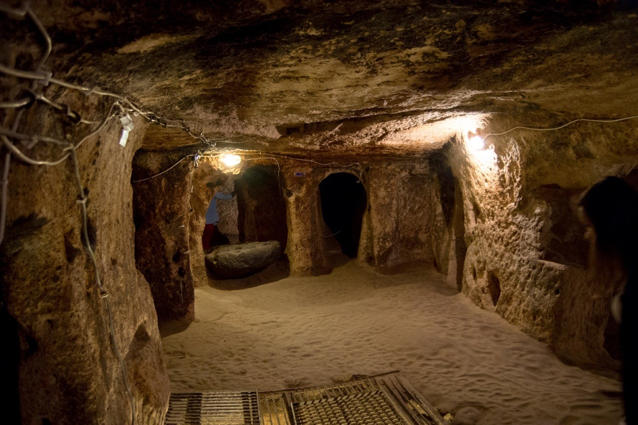 Famous Stairs Underground Cities Of Cappadocia For Trogs And Hobbits