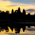 best time to visit Angkor Wat: sunrise