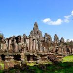 best time to visit Angkor Wat: view of Bayon