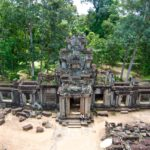 best time to visit Angkor Wat: aerial view