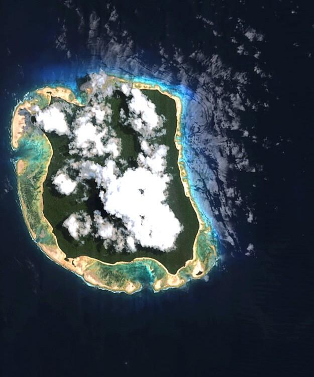 North Sentinel Island Satellite
