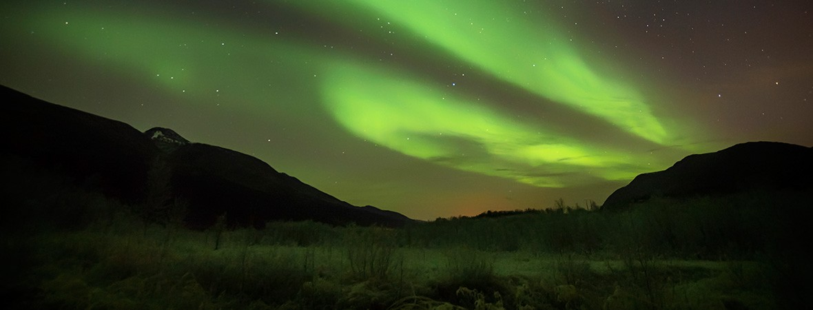 Chasing the northern lights in Tromso new feat
