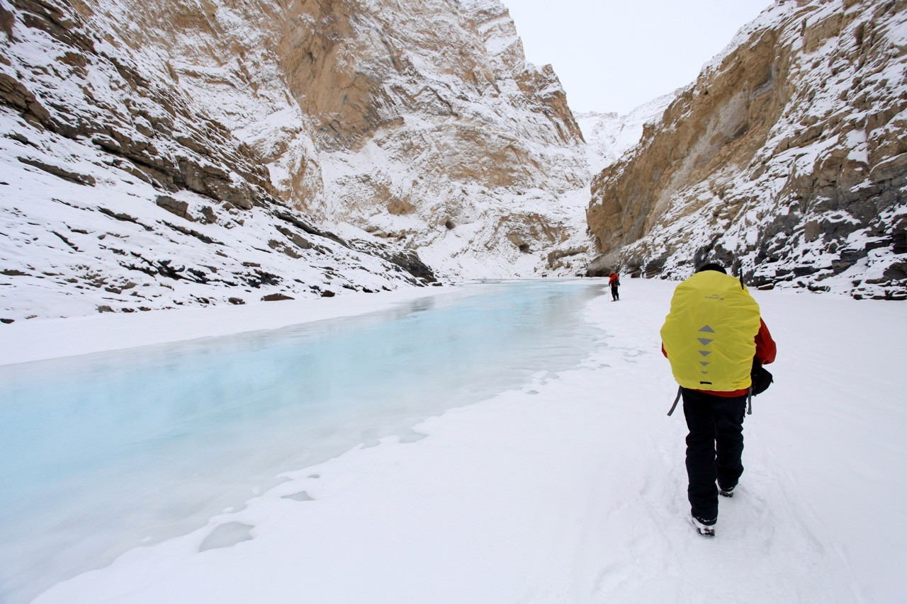most dangerous hikes in the world chadar