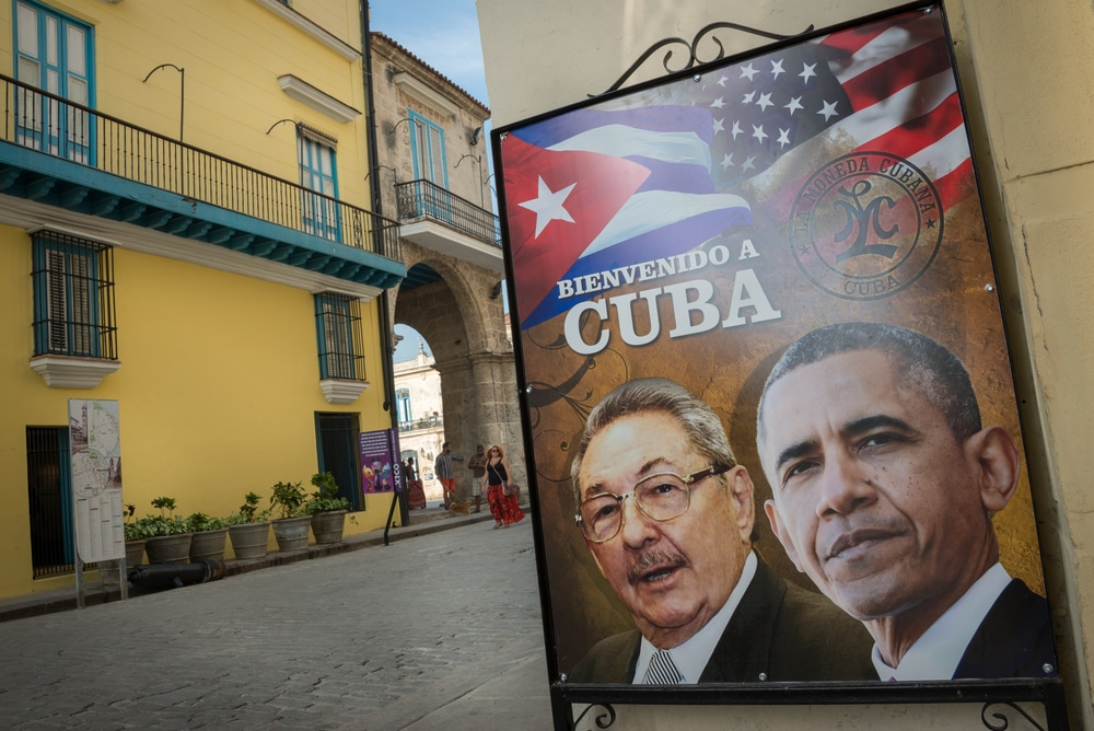 Barack Obama visited Cuba in 2016