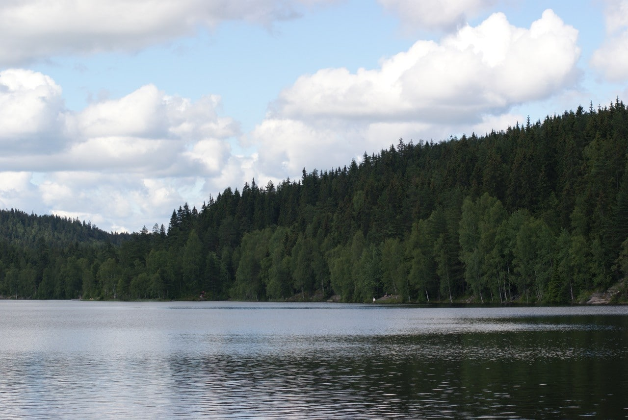 oslo-hiking-trails-Steinbruvannet-lake