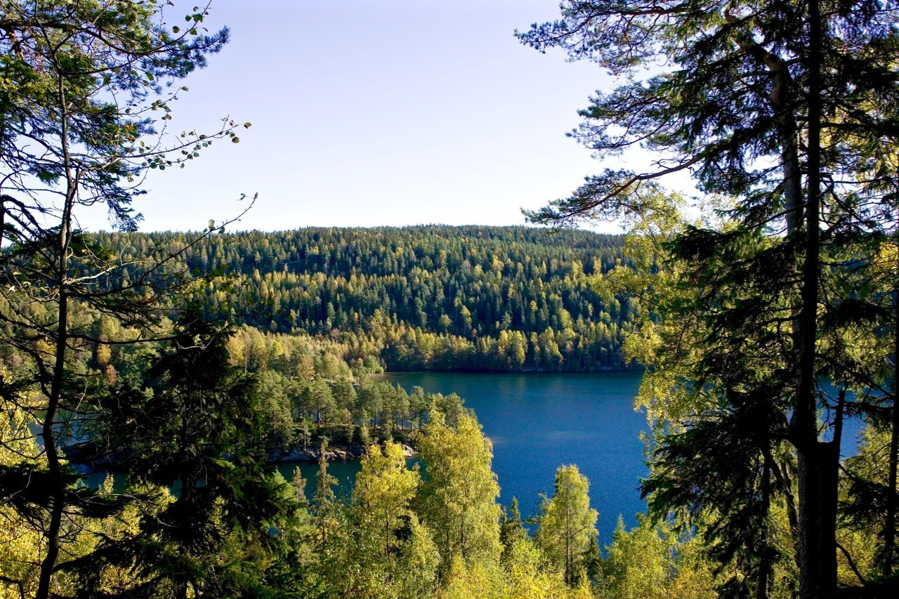 oslo-hiking-trails-Nøklevann lake