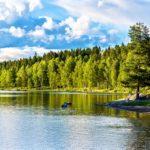 oslo-hiking-trails-Sognsvann lake north of Oslo