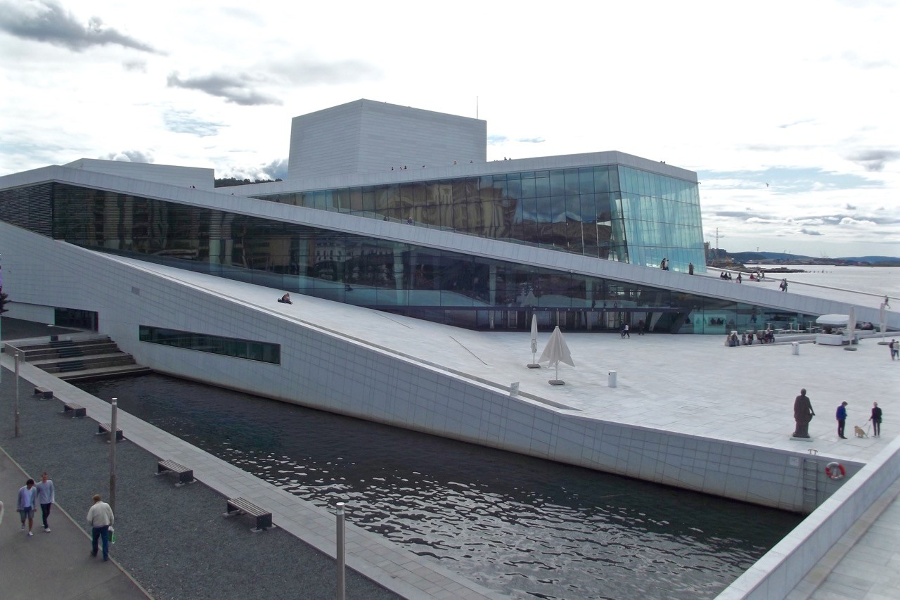 Things to do in Oslo Norway opera house