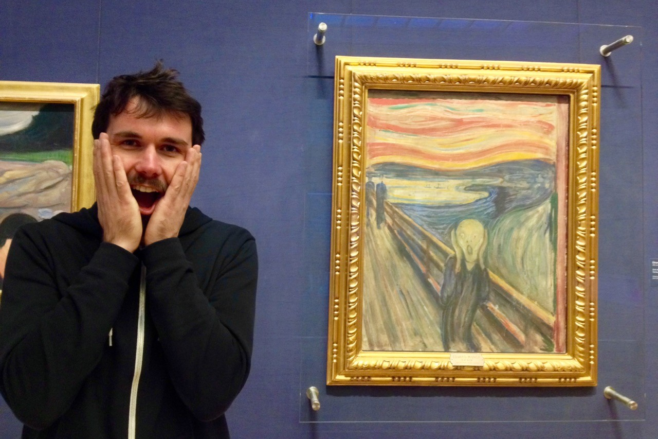 Things to do in Oslo Norway the scream munch