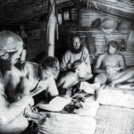 Kon Tiki: Inside the bamboo cabin