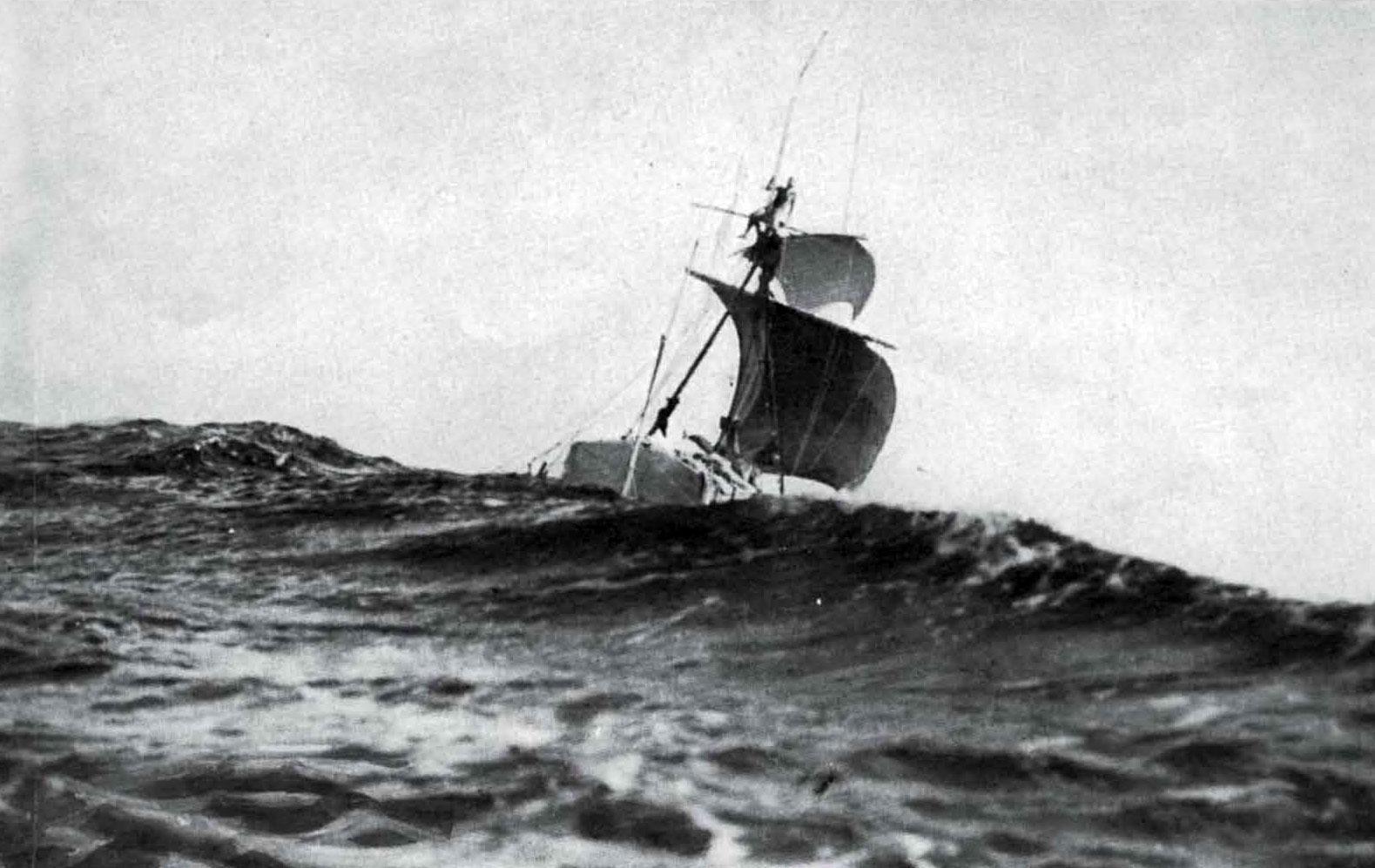 Kon Tiki at full sail