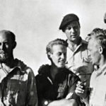 Kon Tiki: Left to right: Knut Haugland, Bengt Danielsson, Thor Heyerdahl, Erik Hesselberg, Torstein Raaby, Herman Watzinger