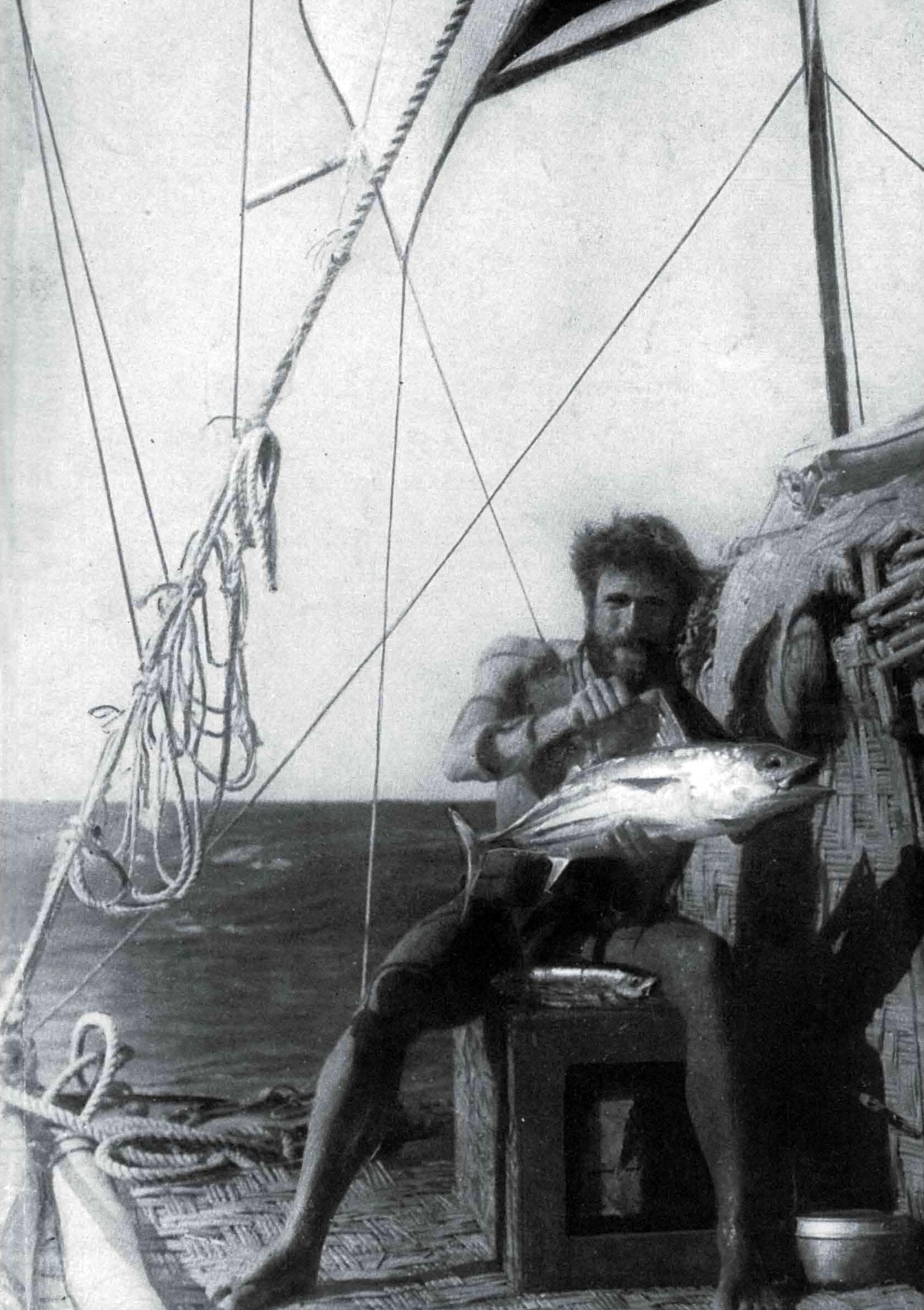 Kon Tiki: Watzinger with a Bonito