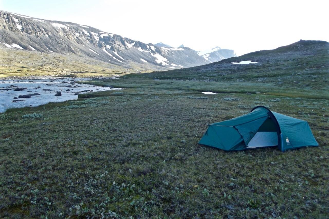 Climbing Galdhøpiggen in Jotunheimen National Park Norway - wild camping