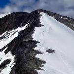 Climbing Galdhøpiggen in Jotunheimen National Park