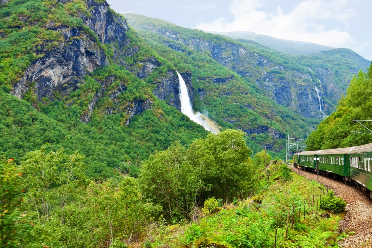 Things to do in Bergen Norway Flam railway