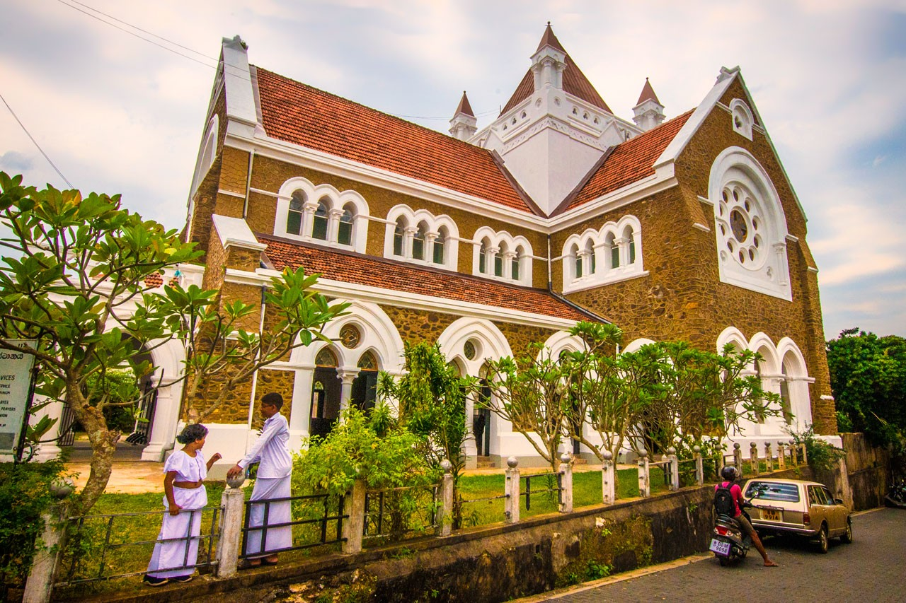 Galle-Fort-All-Saints-Church
