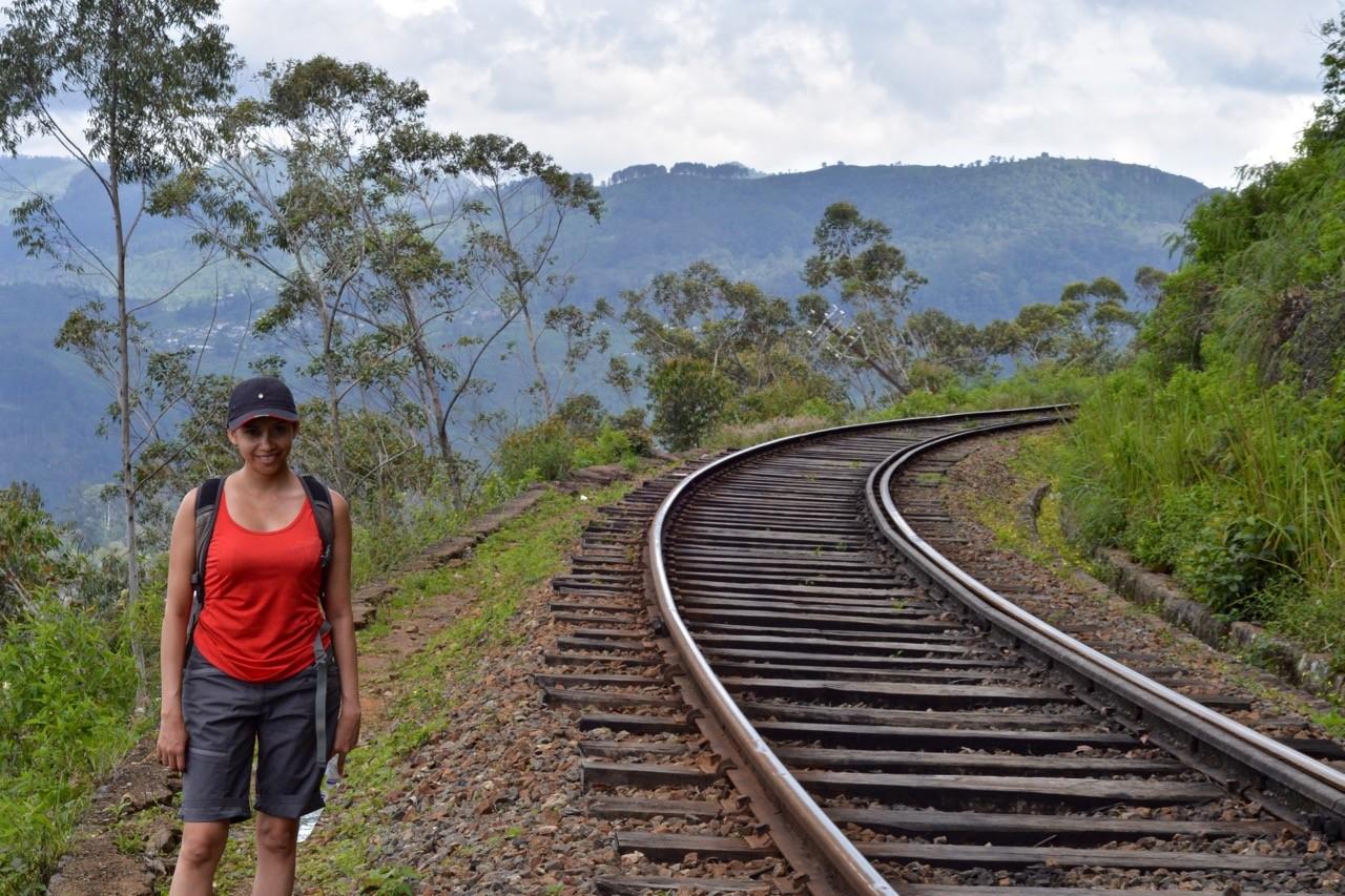 Hiking trails around Ella Sri Lanka - Idalgashima 3