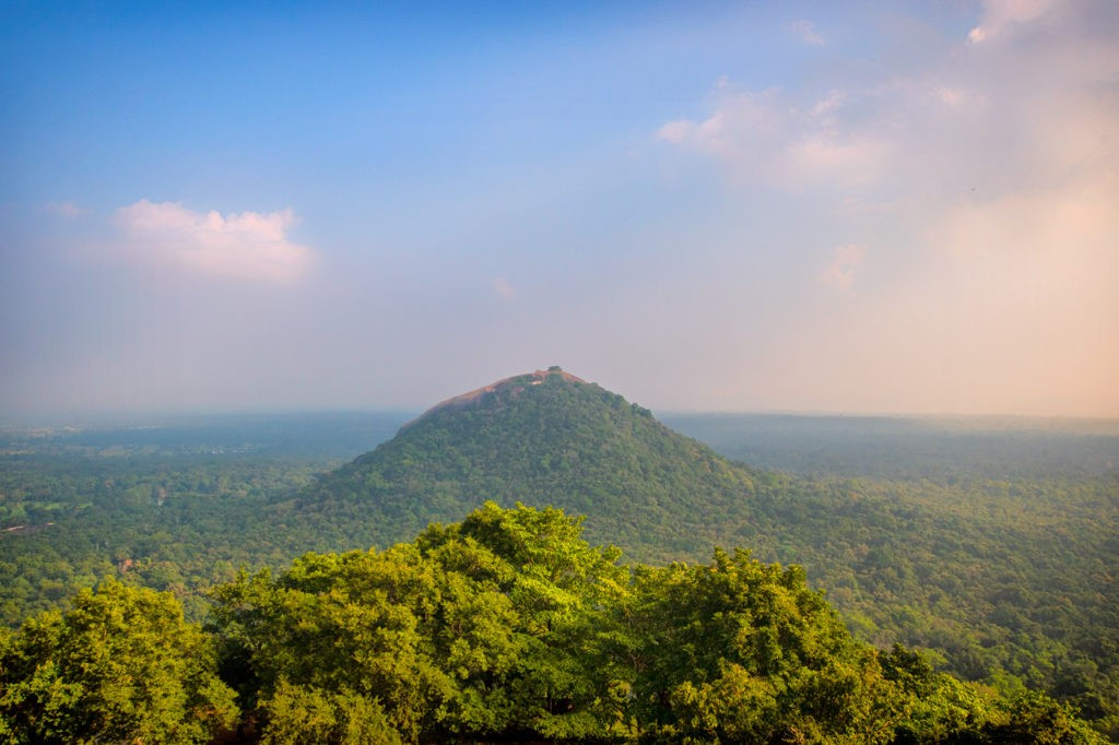 Sigiriya Rock Fortress view