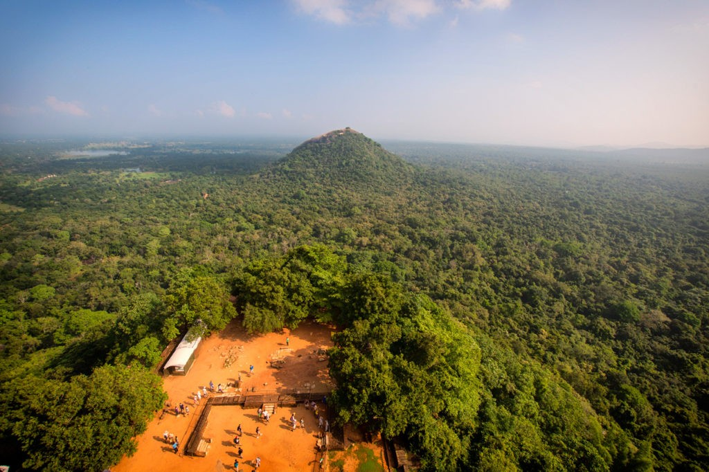 View from Sigiriya Rock Fortress