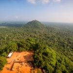 View from Sigiriya Rock Fortress