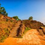 Stairs at Sigiriya Rock Fortress