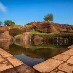 Calm pool at Sigiriya Rock Fortress