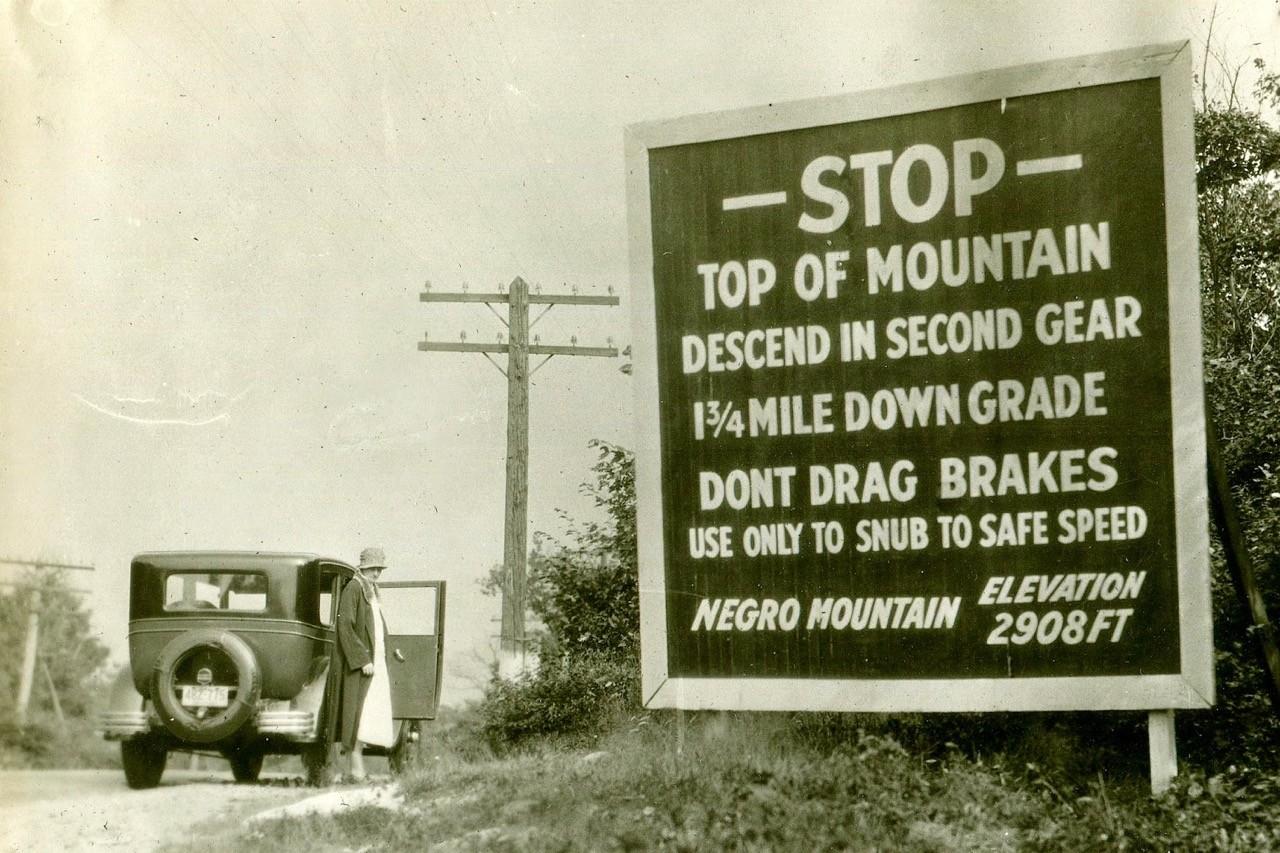 Controversial mountain names - negro