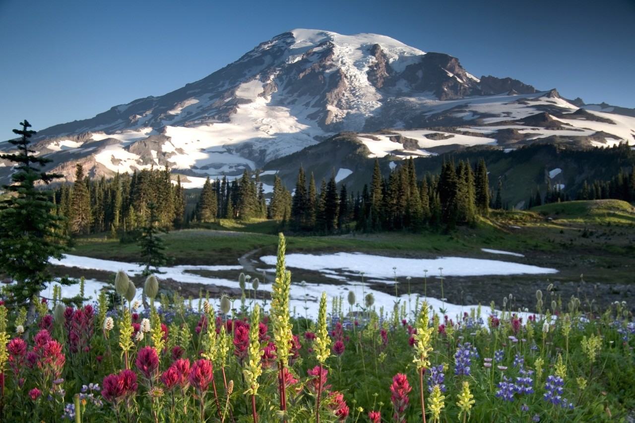 Controversial mountain names - rainier