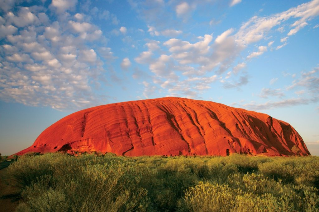 Controversial mountain names - uluru