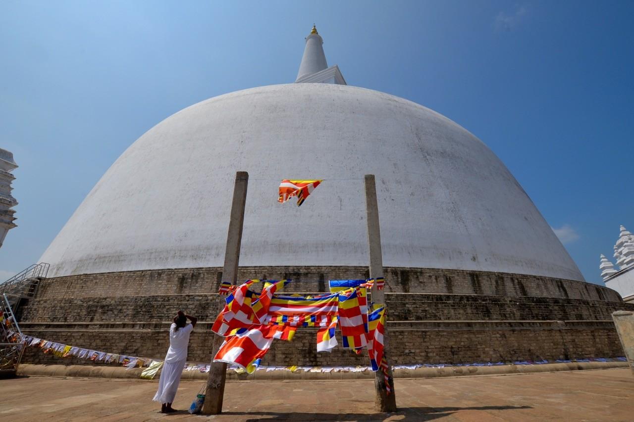 Ruwanweliseya is one of the oldest structures in Anuradhapura