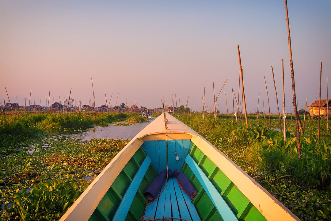 cycling tour of myanmar Inle Lake