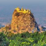 Idyll worship: Mount Popa's monastery on a volcano