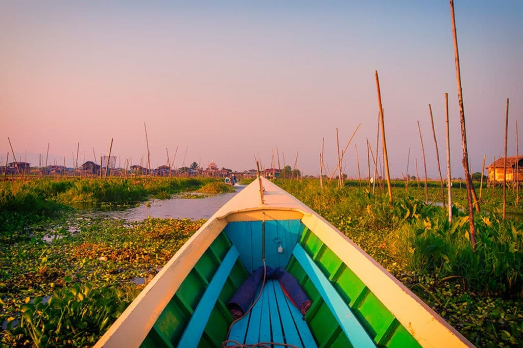 Interesting facts about Myanmar inle lake gardens