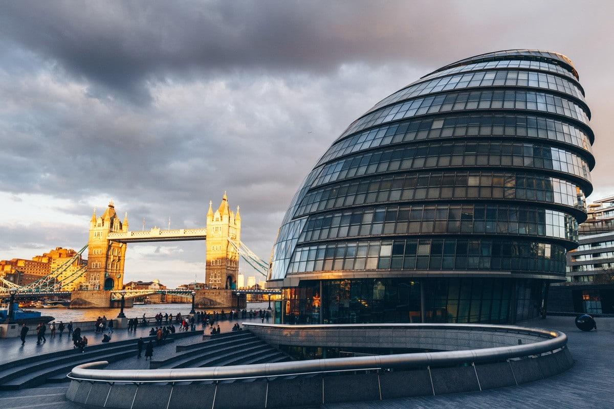 The offices of London Mayor Sadiq Khan