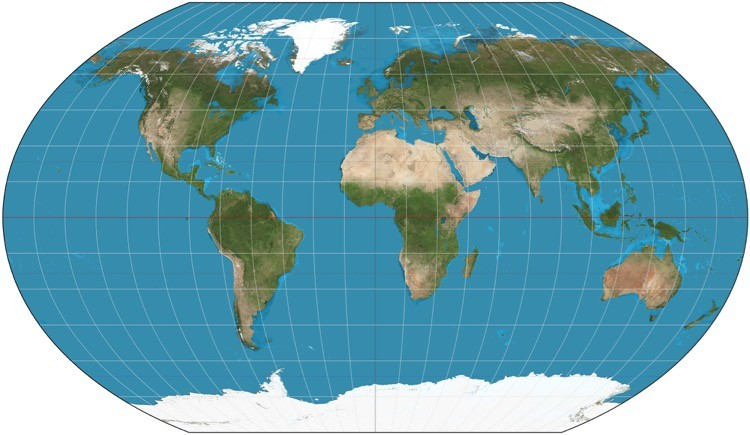 map-projections-pseudocylindrical