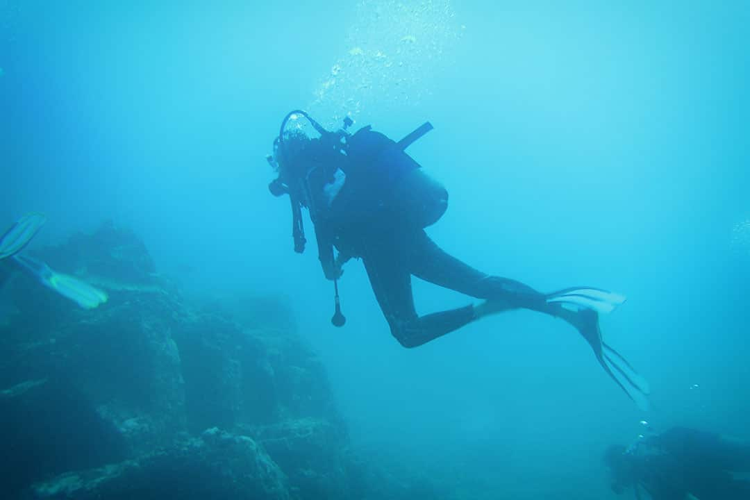 Diving at Blue Bay Mauritius-1